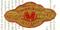 Stabilimento Musical Alessando Pigna Milano