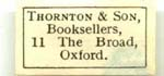 Thornton & Sons Booksellers