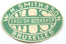 W H Smith English Bookshop Bruxelles