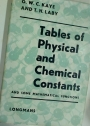 Tables of Physical and Chemical Constants and Some Mathematical Functions.