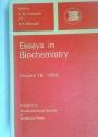Essays in Biochemistry. Volume 16. 1980.