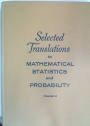 Selected Translations in Mathematical Statistics and Probability. Volume 2.