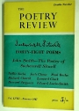 Forty-Eight Poems by Sacheverell Sitwell. (= The Poetry Review. Volume 58, Number 2, Summer 1967)