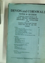 Devon & Cornwall Notes & Queries: a Quarterly Journal devoted to the Local History, Archaeology, Biography & Antiquities of the Counties of Devon & Cornwall. Volume 30, Part 3.