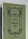 Horace: Odes, Book 1. A Literal Translation.