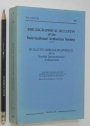 Bibliographical Bulletin of the International Arthurian Society. Volume 38.