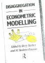 Disaggregation in Econometric Modelling.