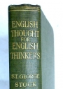 English Thought for English Thinkers.