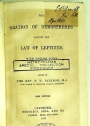 The Oration of Demosthenes against the Law of Leptines, with English Notes. Ed. B W Beatson. New Edition.