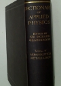 Dictionary of Applied Physics in Five Volumes. Vol 5 Only: Aeronautics, Metallurgy.
