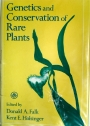 Genetics and Conservation of Rare Plants.