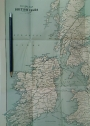 "Railway Map of the British Isles, ""For Satchel Guide""."