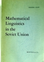 Mathematical Linguistics in the Soviet Union.