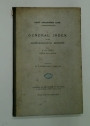Egypt Exploration Fund. A General Index to the Archaeological Reports. Volumes I - XVIII, 1890-1 - 1908-9.