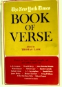 The New York Times Book of Verse.