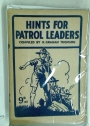 Hints for Patrol Leaders.
