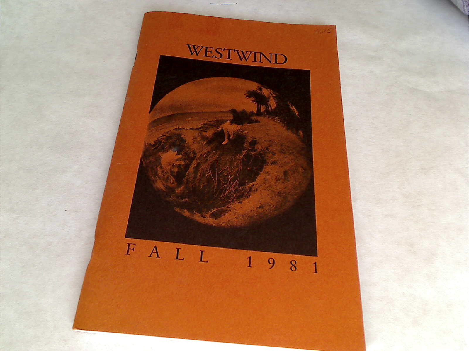 Westwind. UCLA's Journal of Fine Arts. Fall 1981.