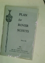 Plan for Rover Scouts.