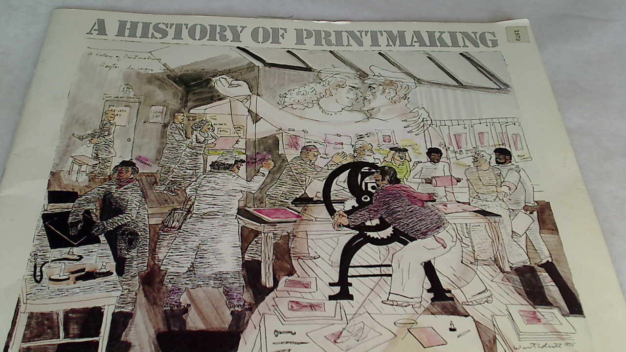 A History of Printmaking: A Traveling Exhibition of the Madison Art Center, June 15 - July 29, 1979.