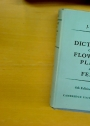 A Dictionary of the Flowering Plants and Ferns. 6th Edition.