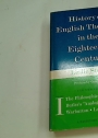 History of English Thought in the Eighteenth Century. Volume 1 ONLY.