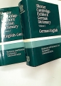Shorter Cambridge-Eichborn German Dictionary. Business and Business Law, Economics, Administration.