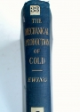 The Mechanical Production of Cold. First edition.