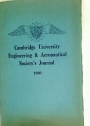 Cambridge University Engineering and Aeronautical Society's Journal. Volume 5, 1930.