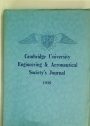 Cambridge University Engineering and Aeronautical Society's Journal. Volume 10, 1935.