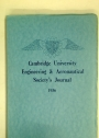 Cambridge University Engineering and Aeronautical Society's Journal. Volume 11, 1936.