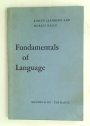 Fundamentals of Language.