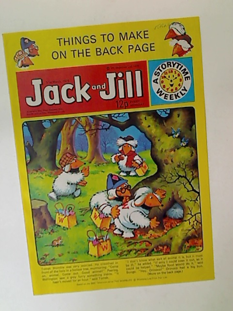 Jack and Jill. Single Issue. 31st March, 1979.