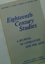 Eighteenth-Century Studies: A Journal of Literature and the Arts, Spring 1968, Volume 1, Number 3.