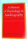 A History of Psychology in Autobiography: Volume 8.