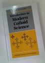 Introduction to Modern Colloid Science.