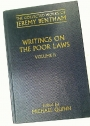 Writing on the Poor Laws. Volume 2. (The Collected Works of Jeremy Bentham)