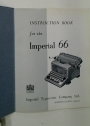 Instruction Book for the Imperial 66.