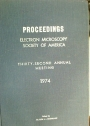 Proceedings, Electron Microscopy Society of America, Thirty-Second Annual Meeting, St Louis.