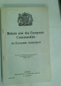 Britain and the European Communities. An Economic Assessment.