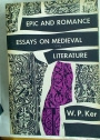 Epic and Romance. Essays on Medieval Literature.