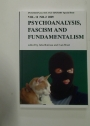 Psychoanalysis, Fascism and Fundamentalism. (Psychoanalysis and History Special Issue Vol. 11, No. 2, 2009)