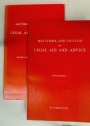 Matthews and Oulton on Legal Aid and Advice. Supplement and Second Cumulative Supplement. 2 Volumes.