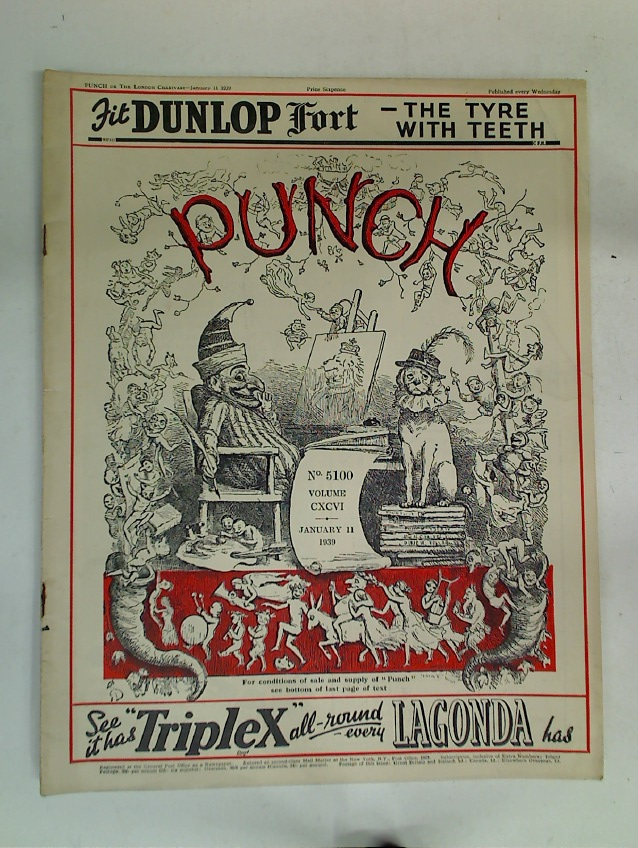 Punch. January 11th 1939.