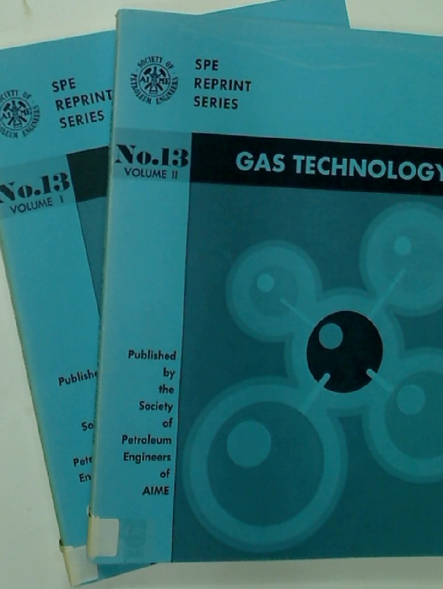 Gas Technology. No. 13: Volumes 1 and 2.