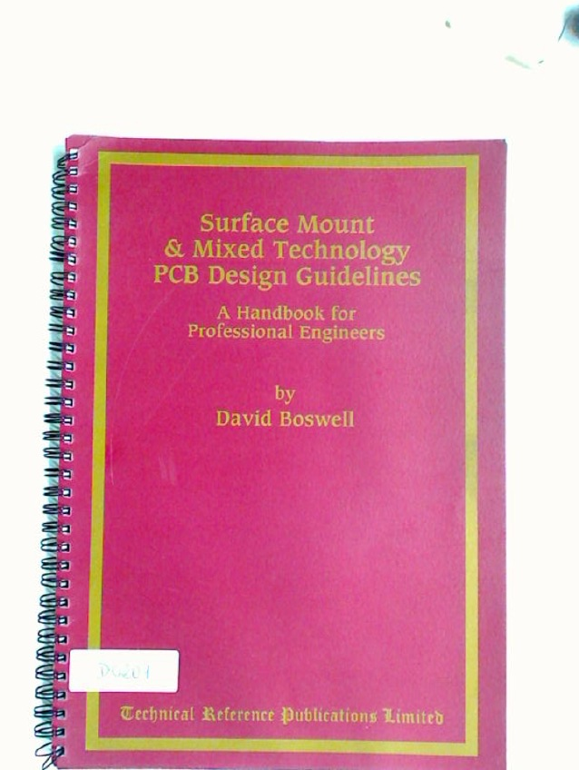 Surface Mount and Mixed Technology PCB Design Guidelines.