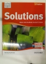 Solutions. Upper-Intermediate Student's Book.