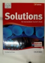 Solutions. Pre-Intermediate Student's Book.