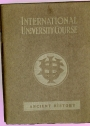 International University Course. Ancient History.
