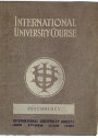 International University Course. Psychology.