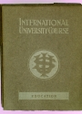 International University Course. Education.